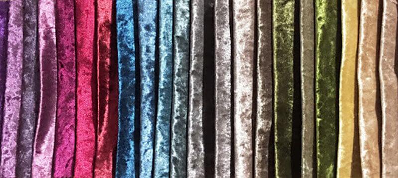 Mẫu vải nhung tuyết cho Giường bọc nệm GS01