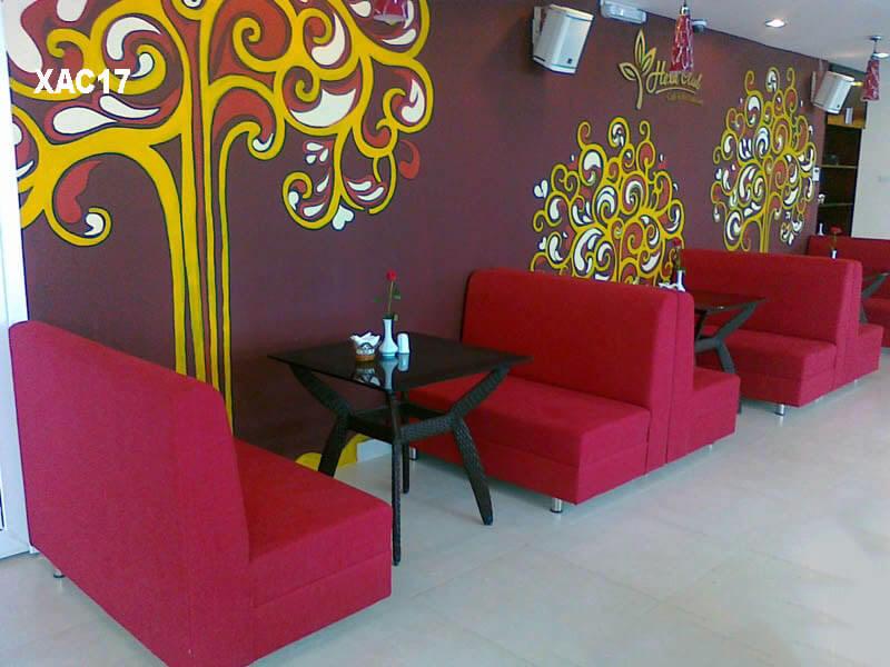 Sofa cafe TPHCM XAC17 tại Nội Thất Xuyên Á
