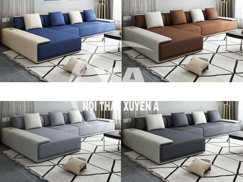 Ghế sofa đẹp hiện đại XAG326 tại Nôi Thất Xuyên Á