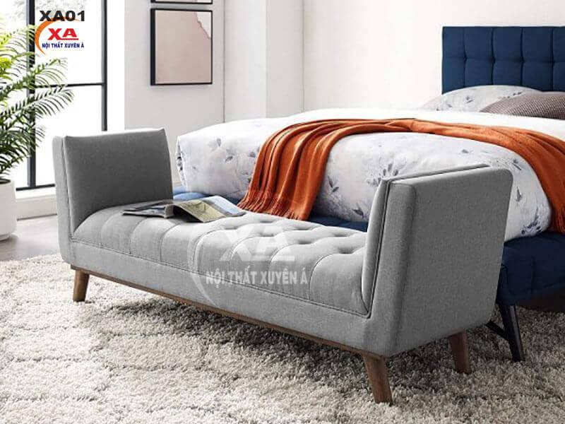 Ghế sofa dài không tựa XA01 tại Nội Thất Xuyên Á