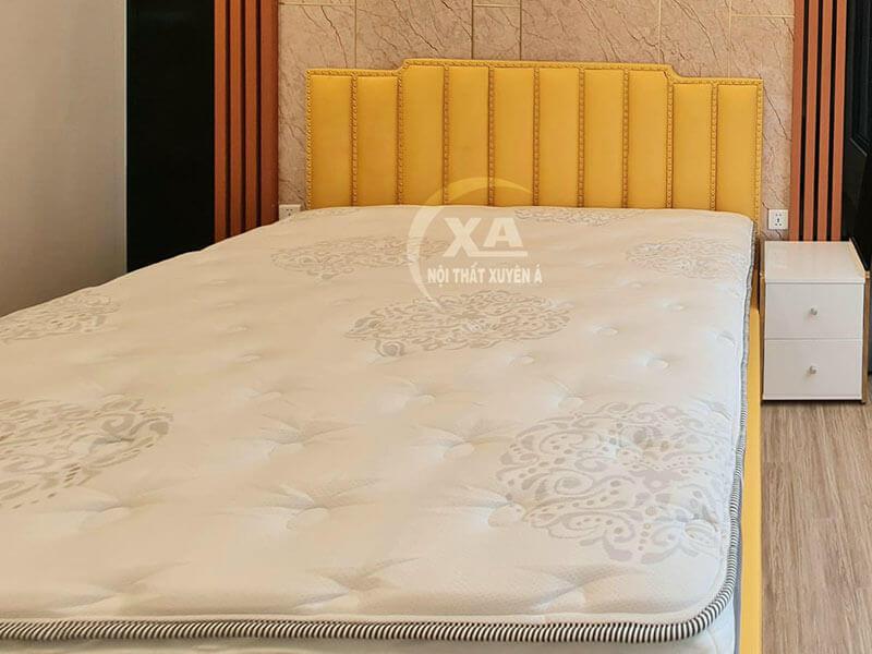 Giường ngủ bọc nệm GS02 tại Nội Thất Xuyên Á