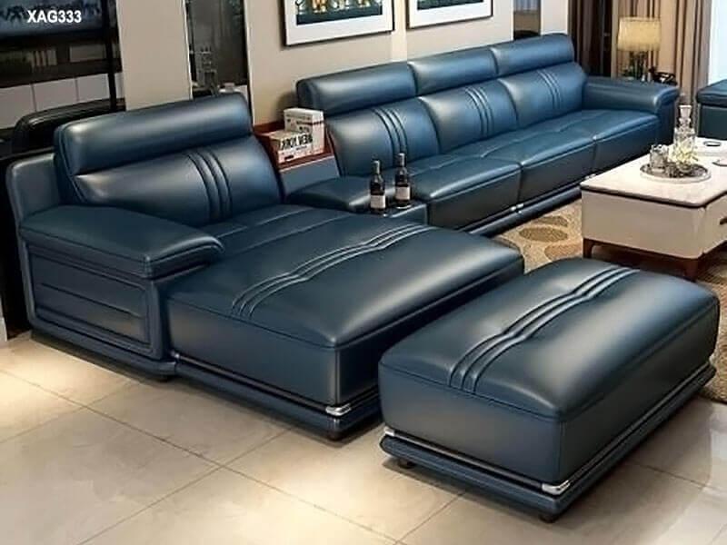 mẫu ghế sofa chữ L XAG333 tại Nội Thất Xuyên Á