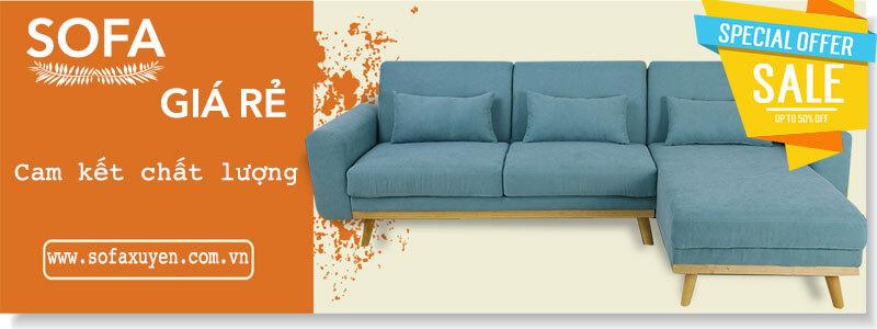 Sofa giá rẻ tại Nội Thất Xuyên Á